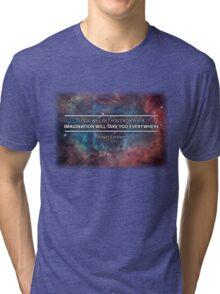 Einstein - Imagination Will Take You Everywhere Tri-blend T-Shirt