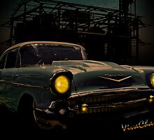 57 Chevy Street Rod by ChasSinklier