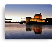 Eilean Donan Castle - Neep-tide Sunset  Canvas Print