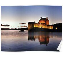 Eilean Donan Castle - Neep-tide Sunset  Poster