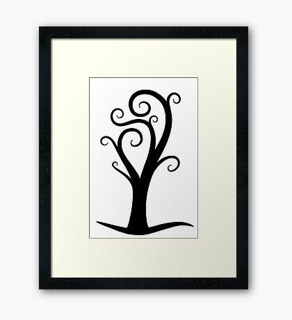 Early October Tree Framed Print