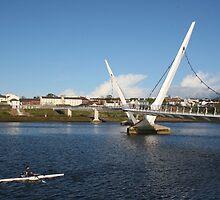 Peace Bridge, Derry by NiallMcC