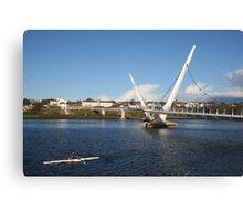 Peace Bridge, Derry Canvas Print