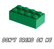 Don't Tread on Me - Lego by freedomgulch