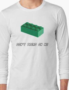 Don't Tread on Me - Lego Long Sleeve T-Shirt