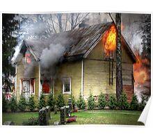 15.11.2012: Old, Abandoned House Burning II Poster