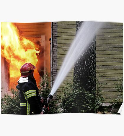 15.11.201212: Fireman at Work II Poster