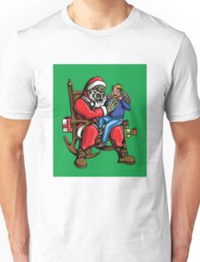 All I want for Christmas is BRAINS!!! Unisex T-Shirt