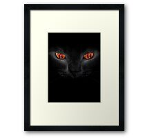 Lord of the rings - Sauron's Cat Framed Print