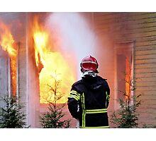 15.11.201212: Fireman at Work III Photographic Print