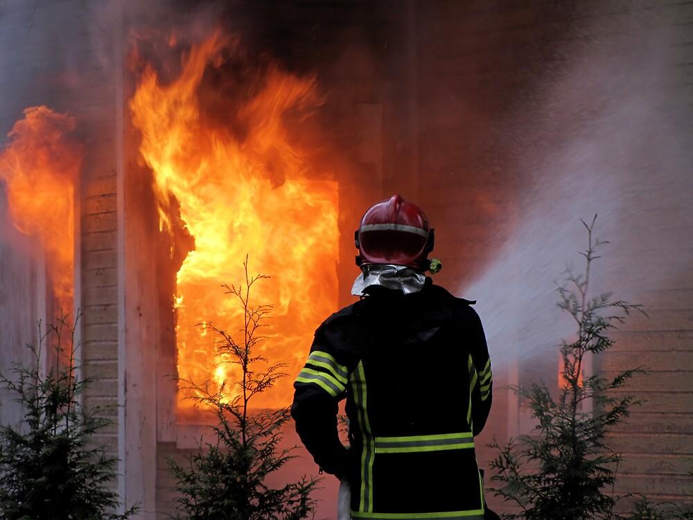 15.11.201212: Fireman at Work IV by Petri Volanen