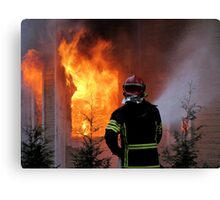 15.11.201212: Fireman at Work IV Canvas Print