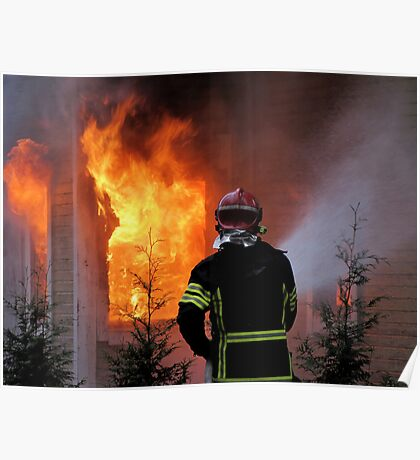 15.11.201212: Fireman at Work IV Poster