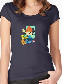 Team PaRappa Women's Fitted Scoop T-Shirt