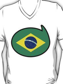 Brazil Soccer / Football Fan Shirt / Sticker T-Shirt