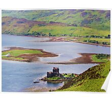 Eilean Donan Castle & Ardelve Bay Poster