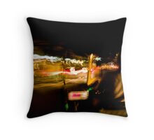 Go Faster! Throw Pillow
