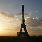 Paris - Eiffel Tower at Sunrise by ChristineBetts