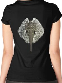 Guardian Angel Knight Women's Fitted Scoop T-Shirt