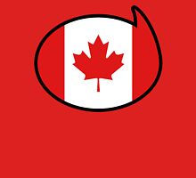 Canada Soccer / Football Fan Shirt / Sticker Womens Fitted T-Shirt