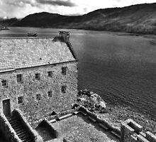 Eilean Donan Castle - The Courtyard  by caledoniadreamn