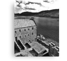 Eilean Donan Castle - The Courtyard  Canvas Print