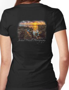 Coral Cove Sunrise Womens Fitted T-Shirt