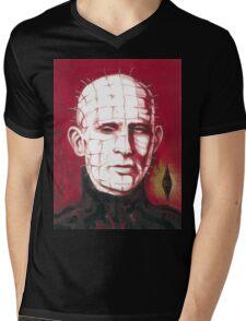 Pinhead Mens V-Neck T-Shirt