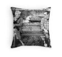 I'll Show You Mine if You Show Me ...... Throw Pillow