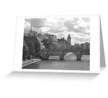Paris, Paris, Paris! Greeting Card