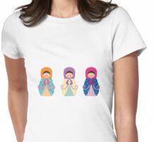 Matrioshkas 3 Womens Fitted T-Shirt