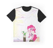 Karate Pie with BG Graphic T-Shirt