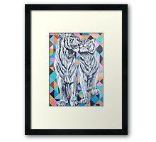Tiger Love Framed Print