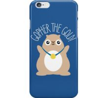 Gopher The Gold iPhone Case/Skin