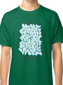 Graffiti Alphabet Classic T-Shirt