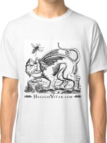 Medieval Monster Chases Wasp Classic T-Shirt