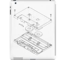 Exploded Cassette Tape  iPad Case/Skin