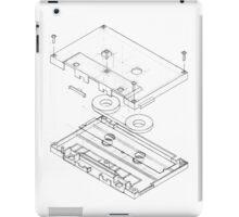 Exploded Cassette Tape  iPad Case/Skin