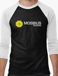 Mosbius Designs Men's Baseball ¾ T-Shirt