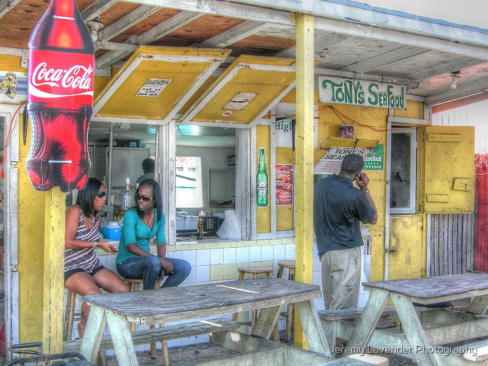 Daily Life and Lunch Time at Potter's Cay in Nassau, The Bahamas by Jeremy Lavender Photography