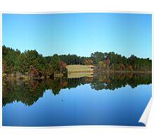 Mirror mirror on the lake..... Poster