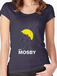 Mrs. Mosby Women's Fitted Scoop T-Shirt