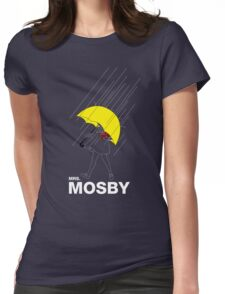 Mrs. Mosby Womens Fitted T-Shirt