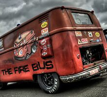 The Fire Bus by BULLYMEISTER
