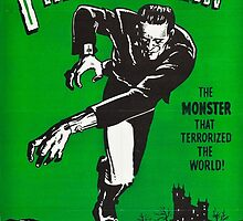 Frankenstein - Vintage by pithypenny