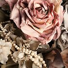 Vintage Rose & Pearls by Tracy Riddell
