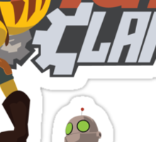 Team Ratchet & Clank Sticker