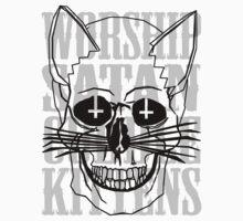 Worship Satan, Cuddle Kittens. by Sopheyeah