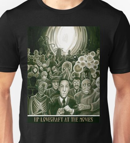 HP Lovecraft At The Movies T-Shirt