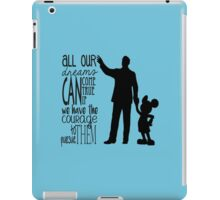 Walt's Words iPad Case/Skin